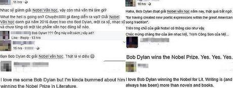 Bob Dylan nhan Nobel van hoc 2016, fan Murakami buon xo - Anh 2