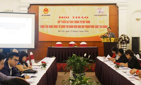 Tri tue cong dong gop suc xay dung chinh sach tai chinh - Anh 1