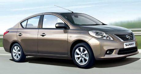 Nissan Sunny giam gia toi 27 trieu dong - Anh 1