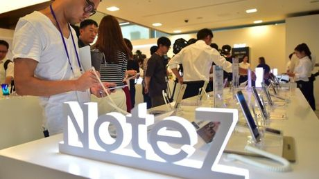 Samsung mat 5,3 ty USD loi nhuan vi su co Note 7 - Anh 1