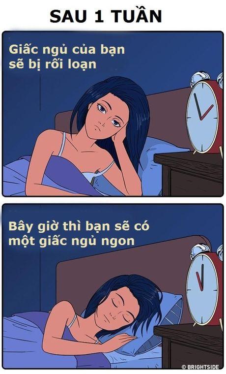 Suc khoe cua ban se thay doi the nao sau khi bo ruou? - Anh 1