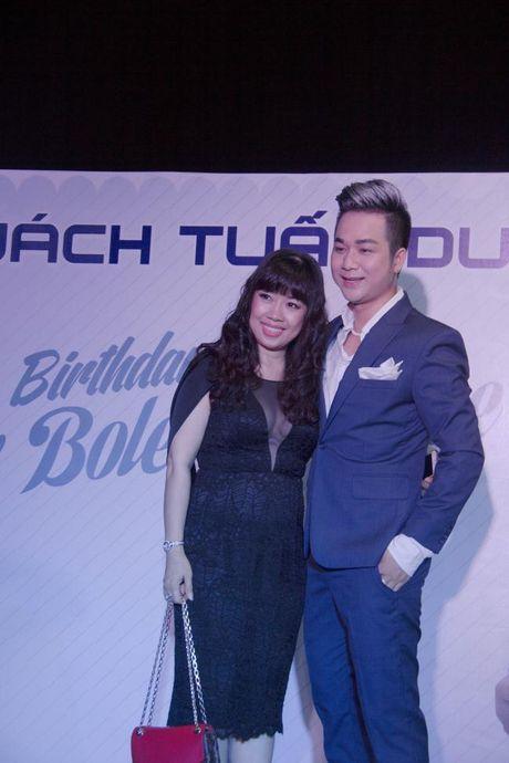 Lam Khanh Chi xinh dep, Ngoc Son 'nhay sung' mung sinh nhat Quach Tuan Du - Anh 13