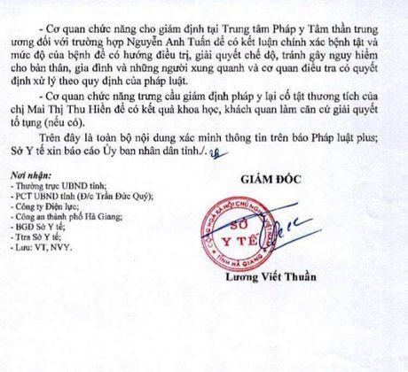 Vu nghi loi dung benh an tam than de tron toi: So Y te Ha Giang len tieng - Anh 3