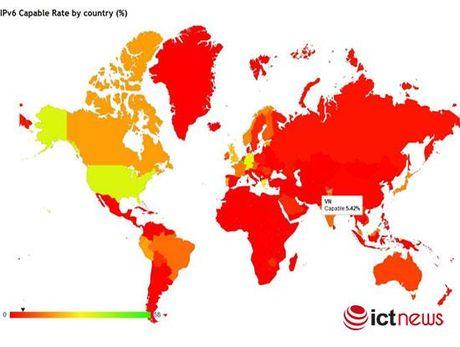 Ti le nguoi dung dia chi Internet IPv6 cua Viet Nam da dat 5,42% - Anh 1