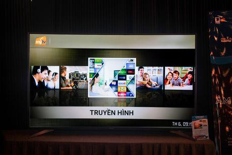 TV 4K man hinh cong made in Viet Nam ra mat, gia tu 22 trieu - Anh 1