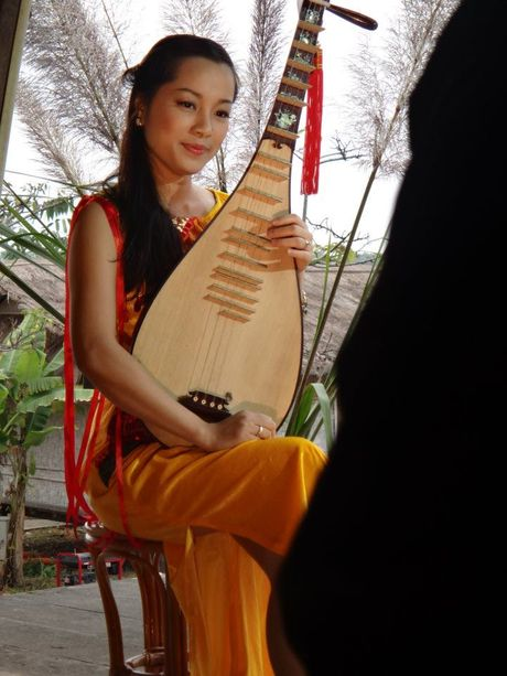 Kho tin dien vien Minh Huong van con nghe giau kin nay - Anh 3
