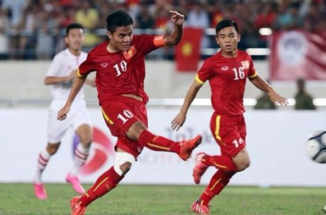 U19 Viet Nam quat nga Trieu Tien gay dia chan - Anh 1