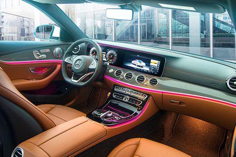Mercedes-Benz E-Class 2017 – nhieu dot pha thong minh - Anh 4