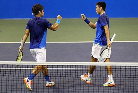 Hoang Nam/Hoang Thien chia tay Vietnam Open 2016 - Anh 2