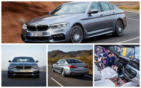 Ro ri hinh anh cua BMW 5-series 2017 - Anh 1