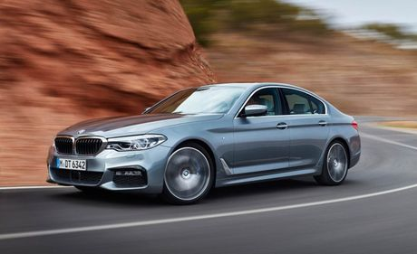 Ro ri hinh anh cua BMW 5-series 2017 - Anh 5