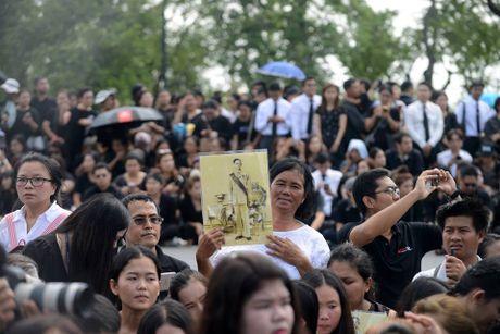 Hang van nguoi dan Thai Lan du le ruoc linh cuu Nha Vua - Anh 9