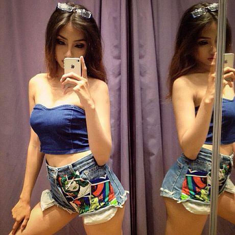 Nu sinh 21 tuoi sexy nhat truong Hoc vien Hang khong - Anh 5
