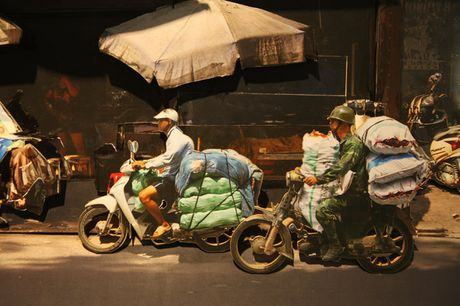 'Chuong cop' Ha Noi dep la lung qua tac pham 3D - Anh 7