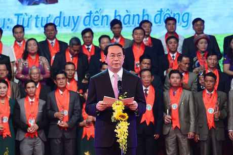 Toan canh le ton vinh Tu hao Nong dan Viet Nam 2016 - Anh 9