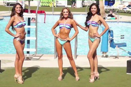 Anh bikini nong bong cua Nguyen Thi Loan tai Miss Grand International - Anh 4