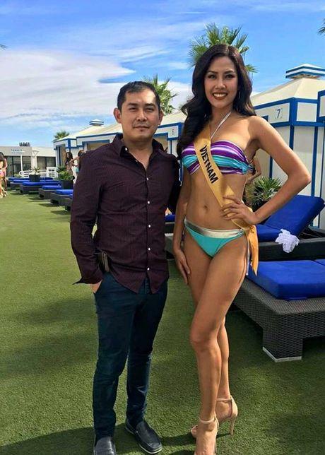 Anh bikini nong bong cua Nguyen Thi Loan tai Miss Grand International - Anh 5