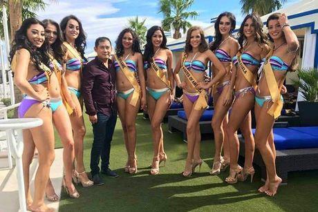 Anh bikini nong bong cua Nguyen Thi Loan tai Miss Grand International - Anh 7