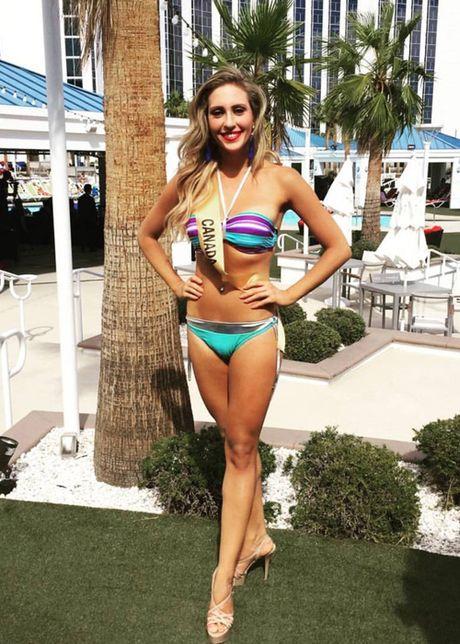 Anh bikini nong bong cua Nguyen Thi Loan tai Miss Grand International - Anh 9