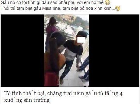 Chang trai tuc gian nem qua xuong dat vi to tinh that bai - Anh 1