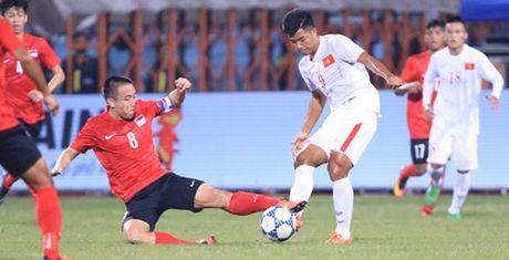 Vet nut dang so tren 'tam khien' cua U19 Viet Nam - Anh 1