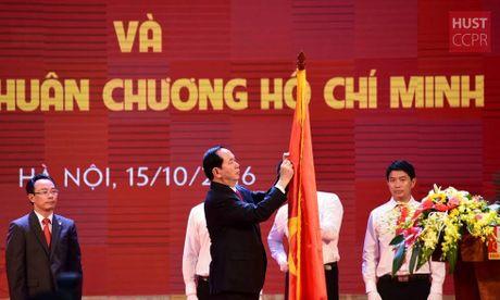 DH Bach khoa Ha Noi don nhan Huan chuong Ho Chi Minh lan thu 2 - Anh 1