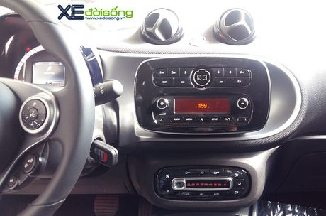 Can canh xe choi Smart fortwo 2016 tien ty dau tien tai Viet Nam - Anh 12