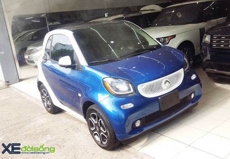Can canh xe choi Smart fortwo 2016 tien ty dau tien tai Viet Nam - Anh 3