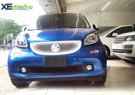 Can canh xe choi Smart fortwo 2016 tien ty dau tien tai Viet Nam - Anh 4