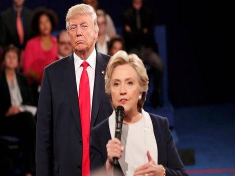 Bau cu My: Thong tin moi nhat ve ty le ung ho Trump va Clinton - Anh 1