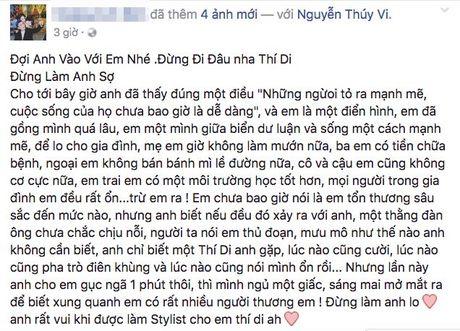 Ban be xac nhan 'hotgirl' Thuy Vi tu tu sau PTTM, hien dang hon me sau - Anh 4
