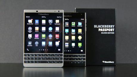 BlackBerry Passport bat ngo giam gia 4,5 trieu dong - Anh 1