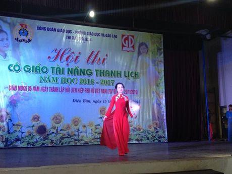 Cong doan nganh giao duc Dien Ban (Quang Nam): Chung ket cuoc thi 'Co giao tai nang- Thanh lich' - Anh 6