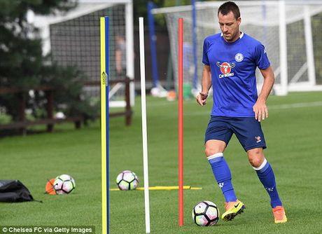 Terry tai xuat o tran gap Leicester - Anh 1