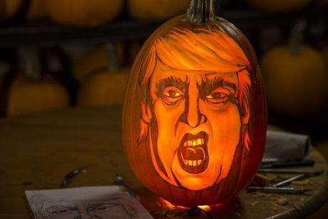 Ong Trump, nguon cam hung bat tan cho le hoi Halloween - Anh 1