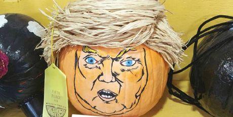 Ong Trump, nguon cam hung bat tan cho le hoi Halloween - Anh 2