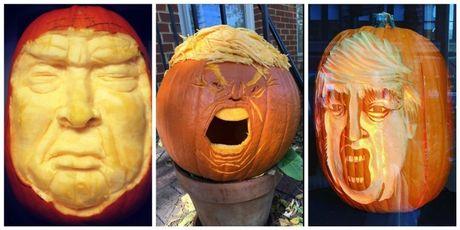 Ong Trump, nguon cam hung bat tan cho le hoi Halloween - Anh 4