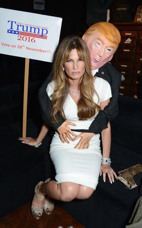 Ong Trump, nguon cam hung bat tan cho le hoi Halloween - Anh 6
