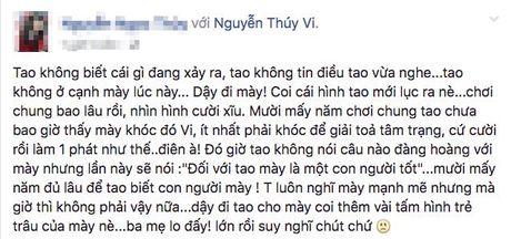 Khong the lien lac duoc voi Thuy Vi, nhieu ban be lo lang co dang gap chuyen - Anh 1