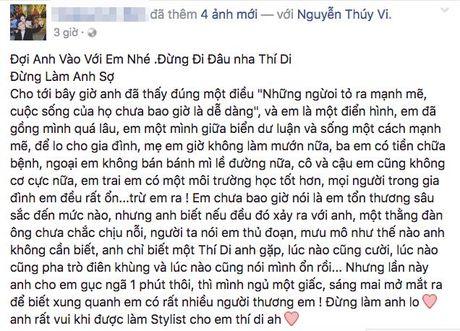 Khong the lien lac duoc voi Thuy Vi, nhieu ban be lo lang co dang gap chuyen - Anh 3