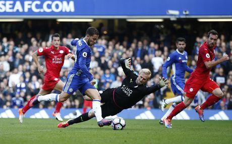 Chelsea vs Leicester (2-0, H2): Moses bo lo co hoi ghi ban - Anh 10