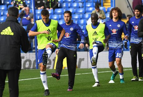 Chelsea vs Leicester (2-0, H2): Moses bo lo co hoi ghi ban - Anh 19