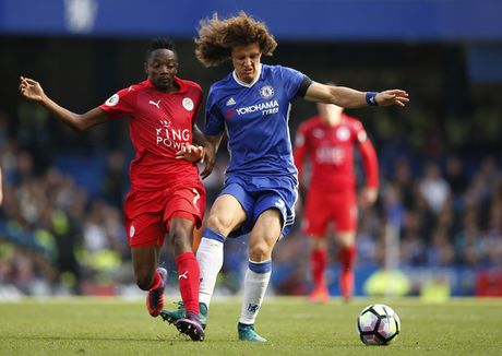 Chelsea vs Leicester (2-0, H2): Moses bo lo co hoi ghi ban - Anh 5