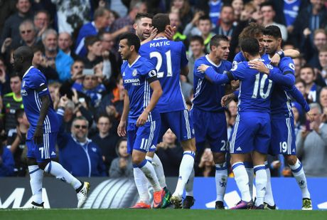 Chelsea vs Leicester (2-0, H2): Moses bo lo co hoi ghi ban - Anh 6