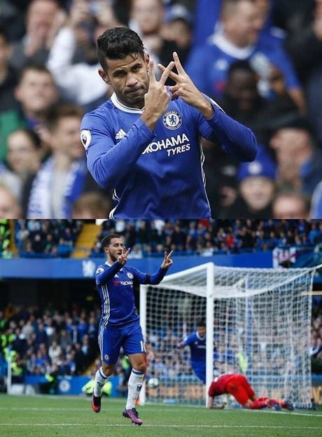 Vi sao Costa va Hazard gio 2 chu V an mung? - Anh 1