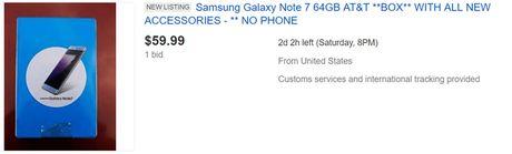 Hop dung Note7 tren eBay dang co gia len toi 60 USD - Anh 2