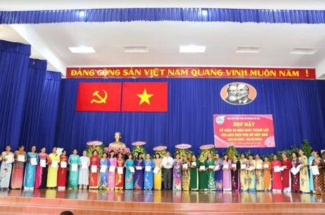 Phu nu Cu Chi: Hop mat 86 nam ngay thanh lap Hoi Lien hiep Phu nu Viet Nam - Anh 4