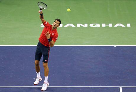 Loi nguoc dong an tuong, Djokovic vao ban ket Thuong Hai Masters - Anh 1