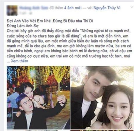 Hotgirl Thuy Vi hoc hoi Minh Nhua dung chieu bai tu tu? - Anh 1