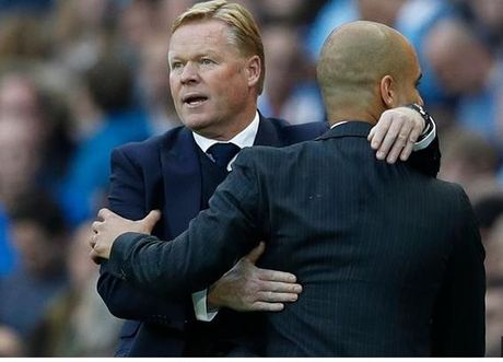 Hoa Man City, HLV Everton khen Pep nuc no - Anh 1